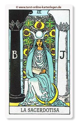 Große Arkana Die Hohepriesterin
