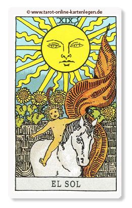 Große Arkana Die Sonne